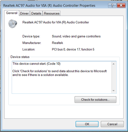 Realtek Ac97 Audio For Via R Audio Controller Driver Download