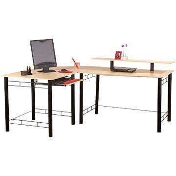 Gemini L Computer Desk