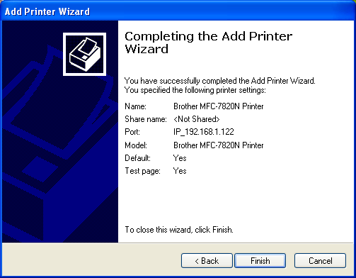 Brother Network Printer Driver Wizard Download