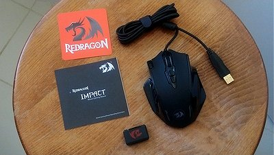 Redragon M908 Impact MMO Gaming Mouse Review